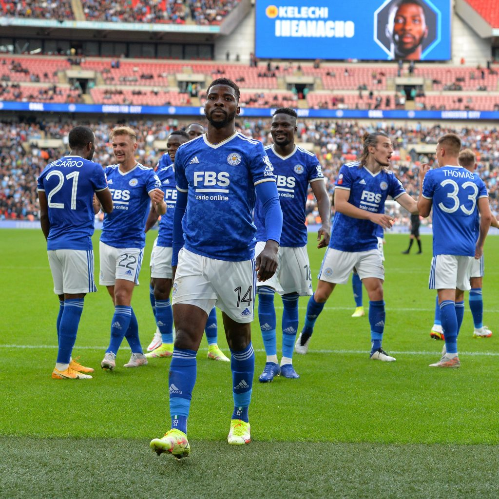 Iheanacho Leads Leicester City To Community Shield Win Over Man City