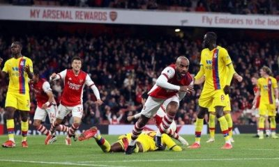 Lacazette Rescues Arsenal From Defeat Against Crystal Palace