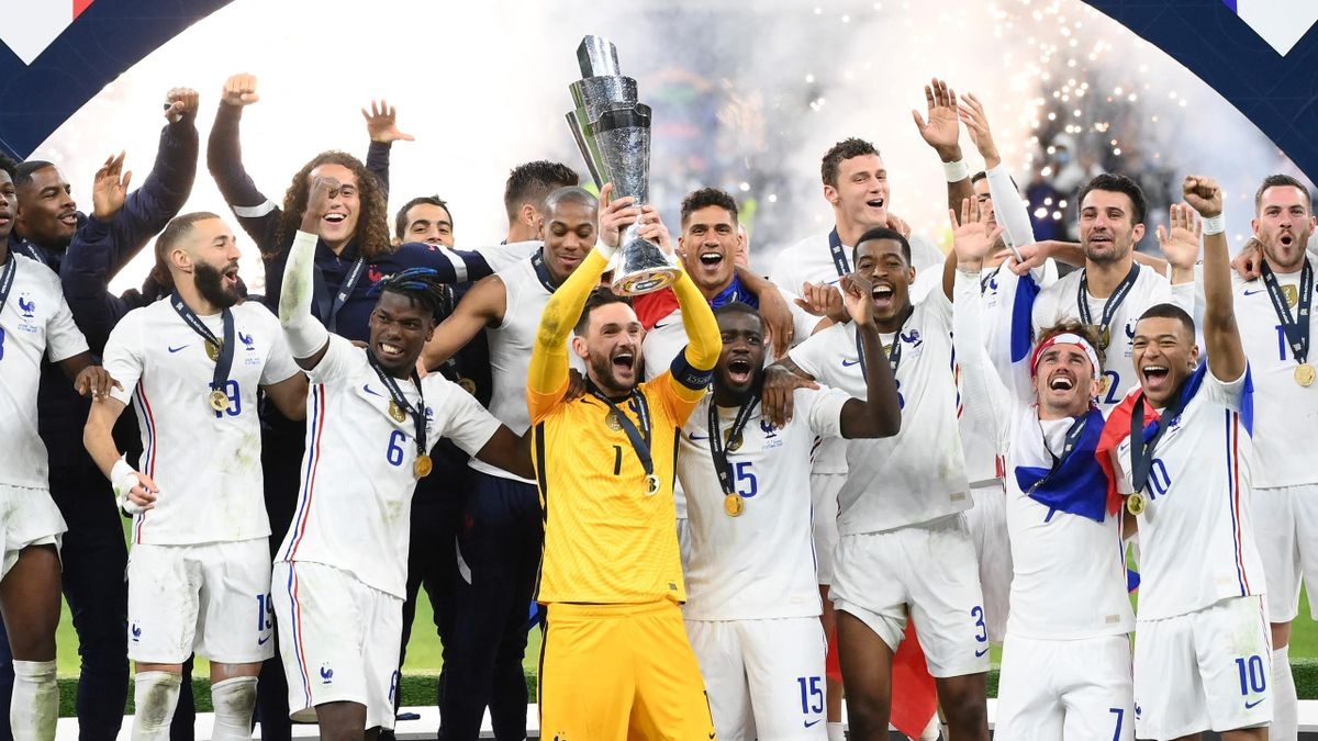 Mbappe, Benzema Lead France To Nations League Trophy