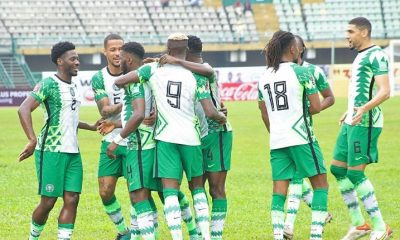WCQ: Osimhen On Target As Nigeria Beat Central African Republic