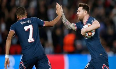 UCL: Messi, Mbappe Run The Show Against Leipzig