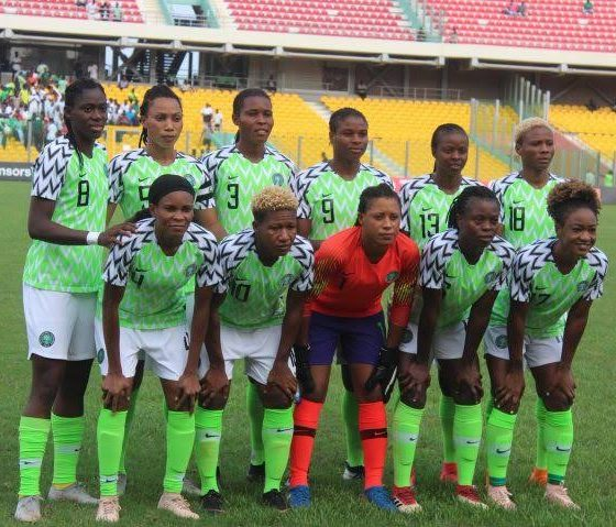 Super Falcons To Battle Ghana In Lagos Today